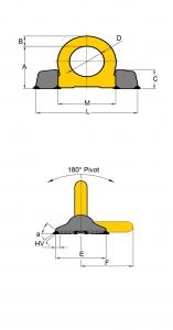 Ringbock YOKE technische Zeichnung